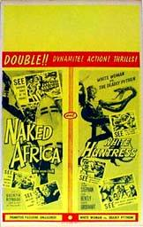 image of Naked Africa / White Huntress movie poster